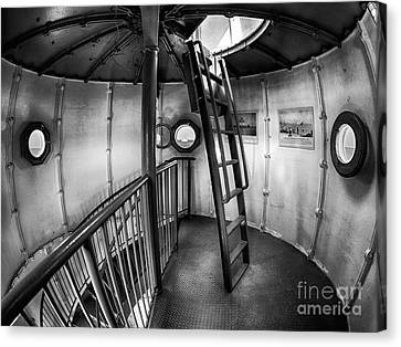 Inside Edgartown Lighthouse 4 Canvas Print by Mark Miller
