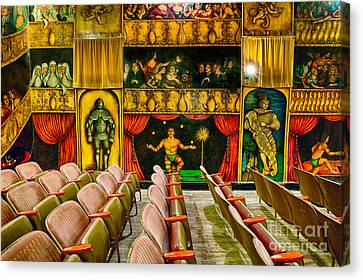 Inside The Amargosa Opera House Canvas Print by Mimi Ditchie