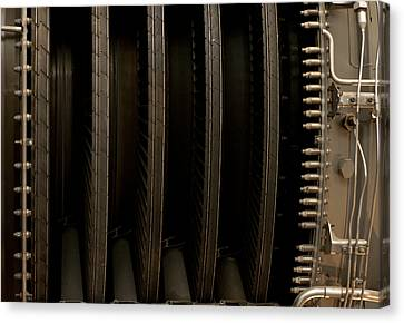 Inside The Engine Canvas Print by Christi Kraft