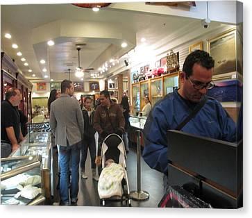 Inside World Famous Pawn Shop Canvas Print by Kay Novy