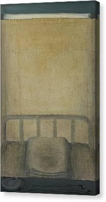 Insomnia - Lying On The Back Canvas Print by Oni Kerrtu
