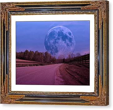 Inspiration In The Night Canvas Print by Betsy Knapp