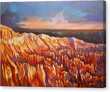 Inspiration Point - Bryce Canyon Canvas Print by Filip Mihail