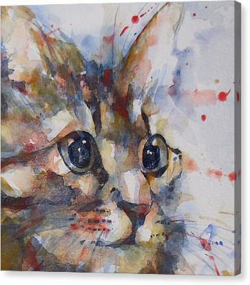 Intent Canvas Print by Paul Lovering
