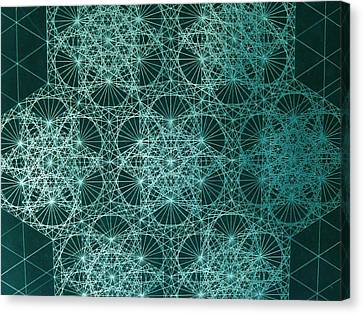 Interference Canvas Print by Jason Padgett