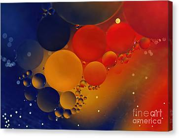 Intergalactic Space 3 Canvas Print by Kaye Menner