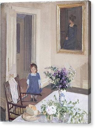 Interior, C.1907 Canvas Print by Harold Gilman