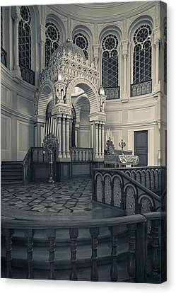 Interior Of The Grand Choral Synagogue Canvas Print by Panoramic Images