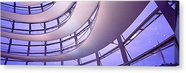 Interior Reichstag Berlin Germany Canvas Print by Panoramic Images