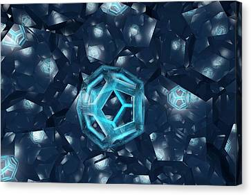 Intersecting Dodecahedron Canvas Print by Carol & Mike Werner