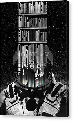 Interstellar Canvas Print by Edgar Ascensao