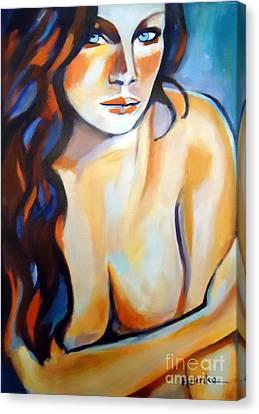 Intimate Silence II Canvas Print by Helena Wierzbicki