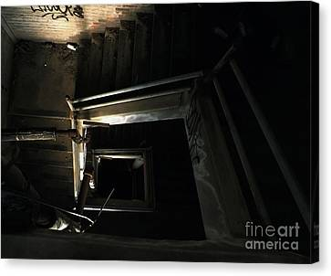 Into The Abyss Canvas Print by James Aiken