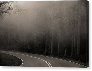 Into The Great Unknown Canvas Print by Dan Sproul