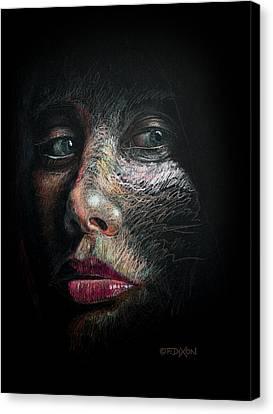 Into The Light Canvas Print by Frank Robert Dixon