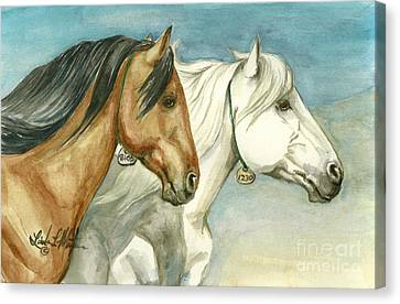 Into The Light  Canvas Print by Linda L Martin