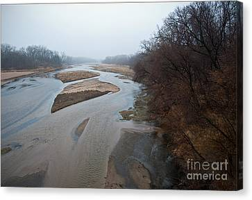 Into The Mist Canvas Print by Fred Lassmann