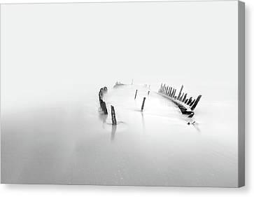 Into The Mist Canvas Print by Mel Brackstone