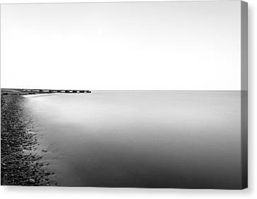 Into The Nothing Canvas Print by CJ Schmit