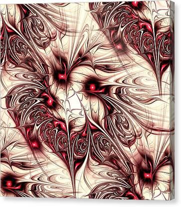 Invasion Canvas Print by Anastasiya Malakhova