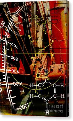 Invention Canvas Print by R Kyllo