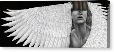 Inward Flight Canvas Print by Pat Erickson