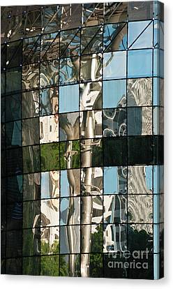 Ion Orchard Reflections Canvas Print by Rick Piper Photography