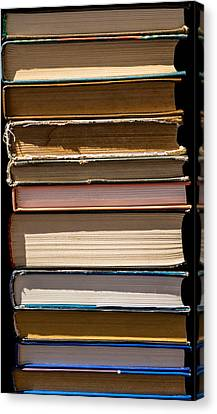 iPhone Case - Pile Of Books Canvas Print by Alexander Senin