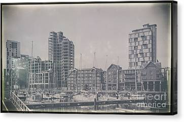 Ipswich Marina Canvas Print by Svetlana Sewell