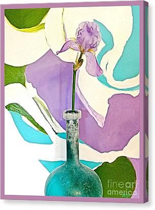 Iris Identity Canvas Print by Marsha Heiken