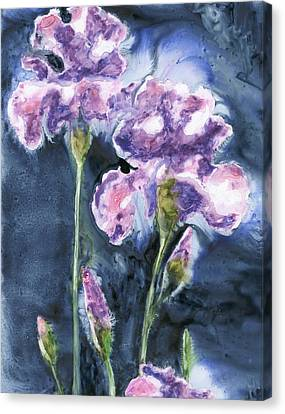 Irises Canvas Print by Marsha Elliott