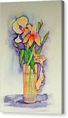 Irises Canvas Print by Terri Mills