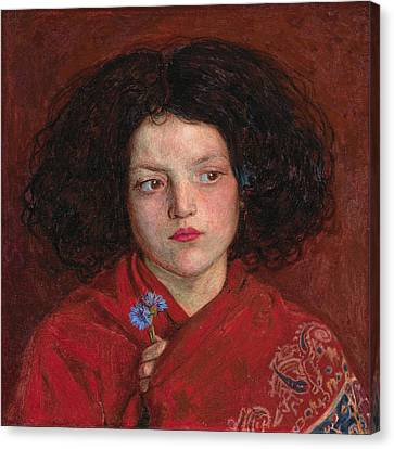Irish Girl Canvas Print by Philip Ralley