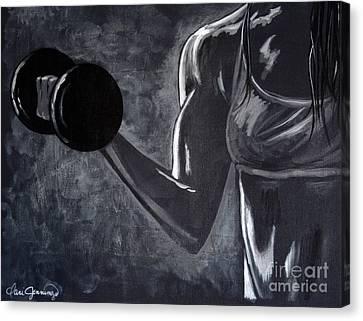 Iron Girl Canvas Print by Dani Abbott