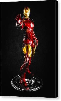 Iron Man Canvas Print by - BaluX -