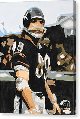 Iron Mike Ditka Canvas Print by Steven Dopka