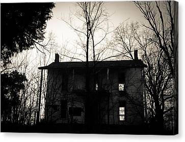 Is Anybody Home Canvas Print by Off The Beaten Path Photography - Andrew Alexander
