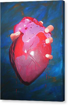 Is This Love? Canvas Print by Aileen Carruthers