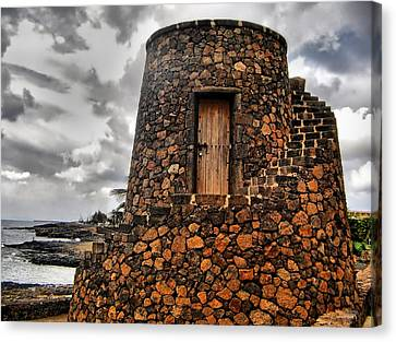 Island Fortress Canvas Print by Mountain Dreams