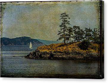 Island Time Canvas Print by Kathy Bassett