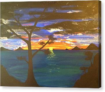 Island View Canvas Print by Scott Wilmot