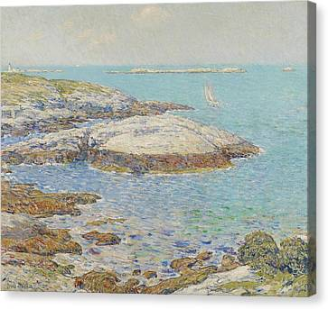 Isles Of Shoals Canvas Print by Childe Hassam