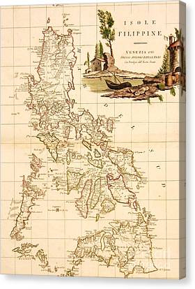 Isole  Filippine Canvas Print by Pg Reproductions