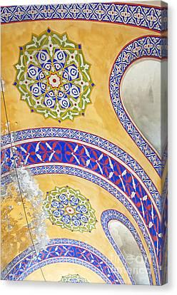 Istanbul Grand Bazaar Interior 02 Canvas Print by Antony McAulay