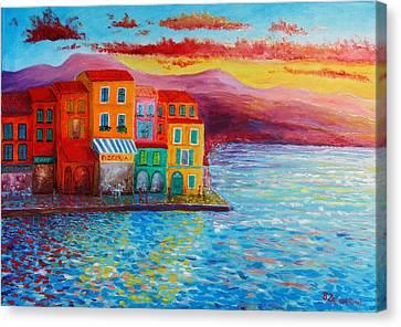 Italian Dream Canvas Print by Bozena Zajiczek-Panus