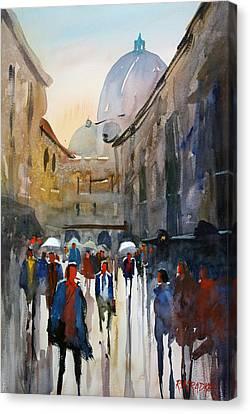 Italian Impressions 5 Canvas Print by Ryan Radke