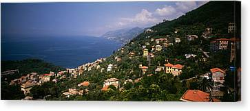 Italian Riviera Italy Canvas Print by Panoramic Images