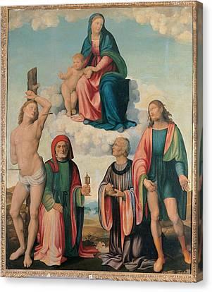 Italy, Emilia Romagna, Ravenna, Bagnara Canvas Print by Everett
