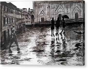 Italy Series 14 Canvas Print by Uma Krishnamoorthy