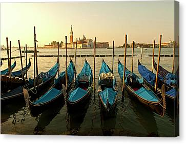 Italy, Venice View Of Canale Di San Canvas Print by David Noyes